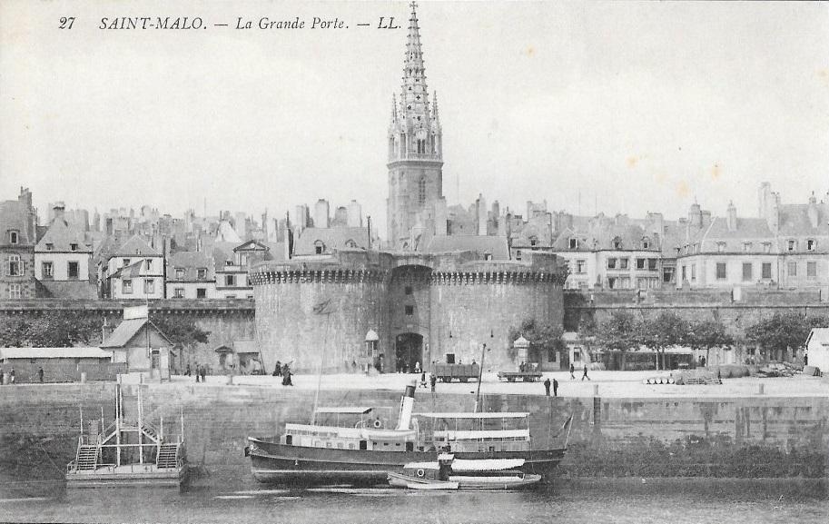 Vapeur port saint malo